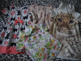 Платья и рубашка д/д, 98-104