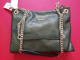 Новая кожаная сумка на цепочке Gaude Италия