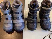 Ботиночки ортопедические р.22 и 23 зима