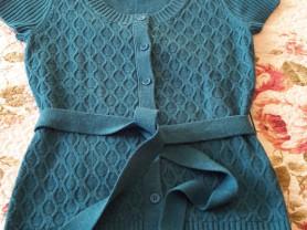 Красивая кофта O'stin цвета бирюза размер М б/у