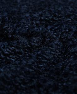Изысканный искусственный мех манящего синего цвета