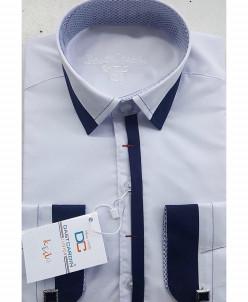 Рубашка для мальчика, Dast Cardin, арт.1102, белый