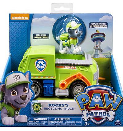 Paw Patrol 16601-Roc Щенячий патруль Машинка  и щенок
