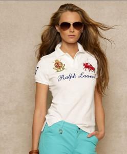 Поло женское  Ralph Lauren (копия)