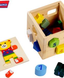 Логический кубик *Мишки*