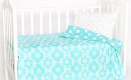 Постельное бельё в кроватку Корона