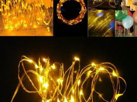 Гирлянды леска 100 лампочек