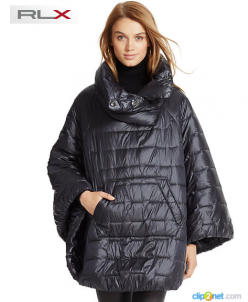 WATER-REPELLENT PONCHO