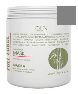 Ollin full force маска для волос и кожи головы