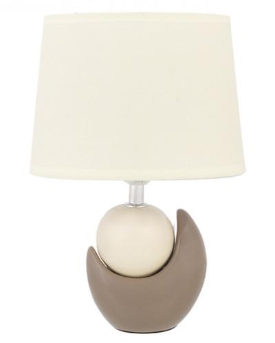 """Настольная лампа 20,5*12*30,5 см """"Мечта"""" + крем. овал абажур"""