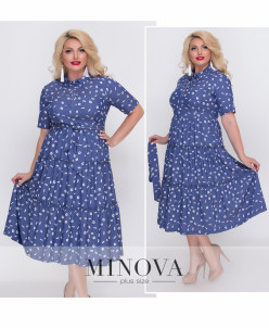 Платье №18-20-Синий