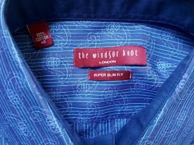 Элегантная мужская сорочка The Windsor Knot