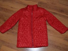 Стеганая Красная куртка OLD NAVY на 5-6 лет