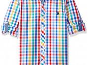 новая рубашка U. S. Polo на 10-12 лет