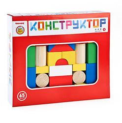 Конструктор 65 деталей Томик