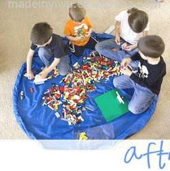 Сумка-коврик Лего-сумка 150 см