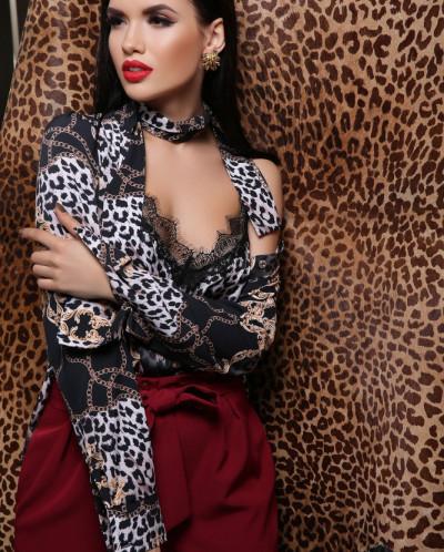 Майка Леопард-цепи Виктория-1П
