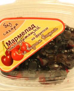 """Мармелад без сахара с соком """"Вишня"""" 140г"""