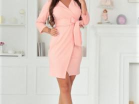 Женское платье Люси розовое