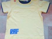 Футболка детская р.98/104 светло-желтая