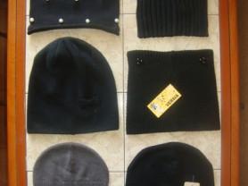 Женские новые и б/у шапки демисезонные/зимние.