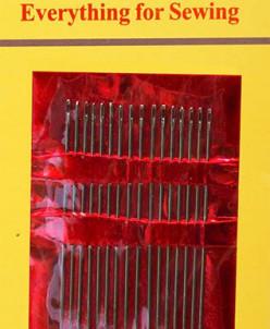 Иглы арт.ТВ НN-08 IDEAL №1 52мм для ручного шитья