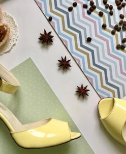 Лаковые босоножки на каблуке. Новая коллекция!