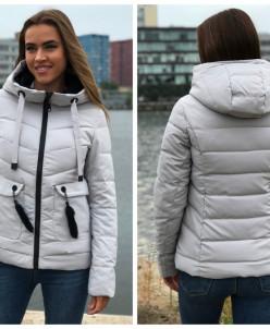 Женская куртка 88-10 серая