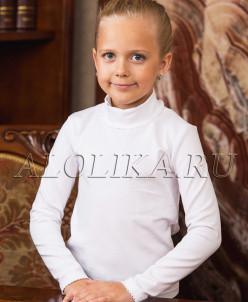 Трикотажная блузка Л*ида белая