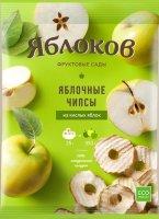 Яблочные чипсы из кисло-сладких яблок 25г