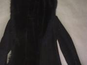 Дубленка женская Новая длинная разм 46,мех ягненка