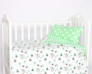 Текстиль для новорожденных и наборы в кроватку