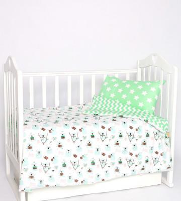Постельное бельё в кроватку Коалы