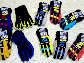 Перчатки -краги детские, подростковые новые, яркие