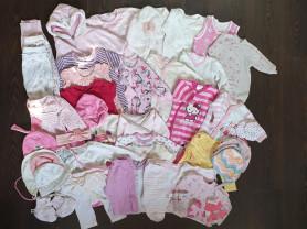 Пакет вещей для девочки 56-68