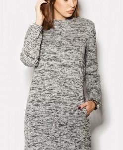 "Платье ""NEONA"" светло-серый"