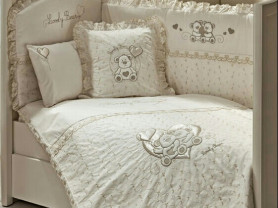 "Комплект в кроватку ""Funnababy Lovely Bear Cream"""