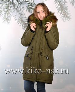 Пальто зимнее для девочки. Новинка 2017!