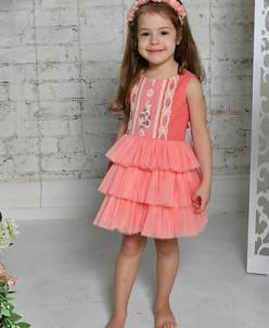 """Платье для девочки """"Коктейль"""""""