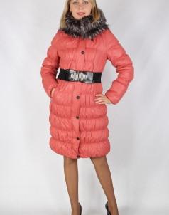 Куртка утепленная Плащевка Бордово-оранжевый