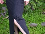 Новая теплая юбка макси р.46 для офиса и не только