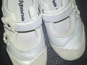 Продам замшевые серебристые туфильки  APAWWA