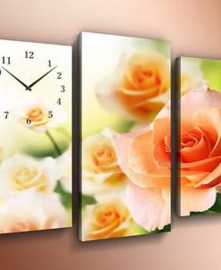 ST63 Модульные часы на холсте 60х80
