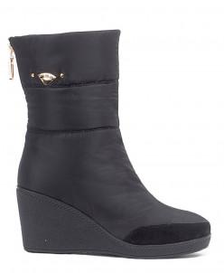 Дутики King Boots KB597 Schwarz Черный