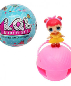 Кукла-сюрприз в шаре, без коробки !