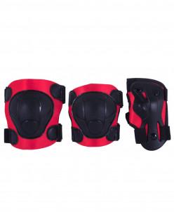 Комплект защиты Armor, черный/красный