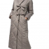 "Пальто ""Манни"" Артикул: 18420 серо-коричневый"