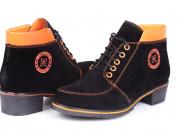 Новые красивые ботиночки из натуральной замши!!!