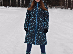 Зимнее пальто мембрана