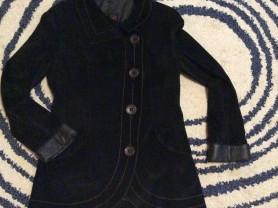 Замшевая натуральная куртка, 46-48 р, 1700₽